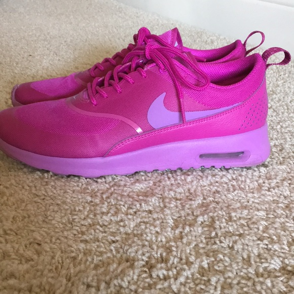 biggest discount outlet wholesale price Nike Air Max Thea Fuchsia athletic shoes